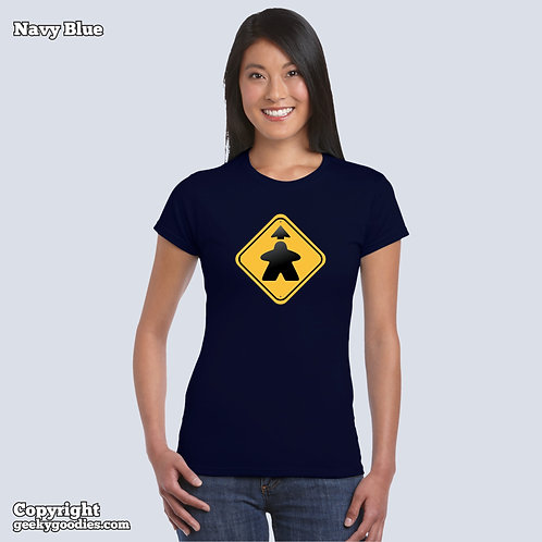 Meeple Ahead Women's FITTED T-shirts