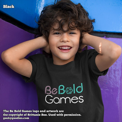 Be Bold Games Logo Children's T-shirts