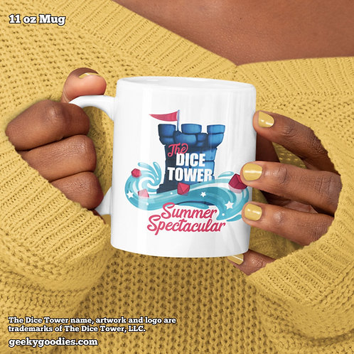 The Dice Tower Summer Spectacular Coffee Mugs