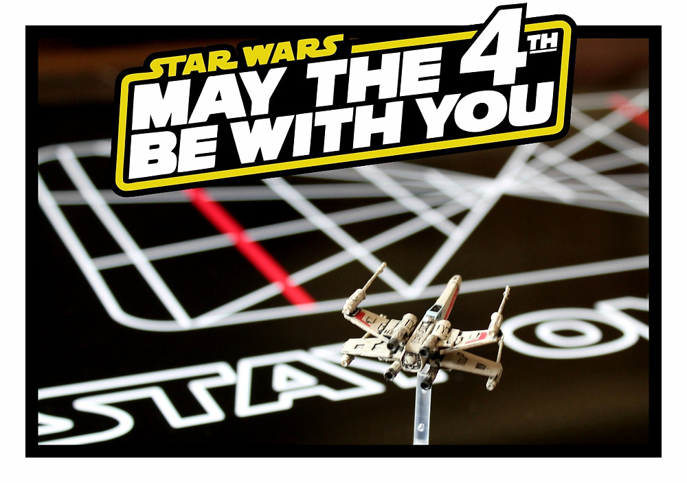 Happy Star Wars Day!  May The Fourth Be With You!