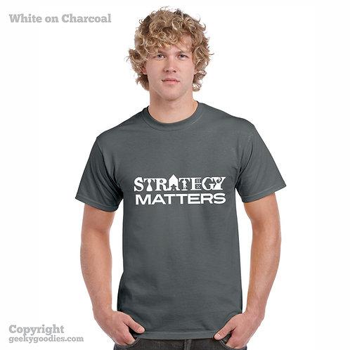 Strategy Matters Shirt (Dark Colours)