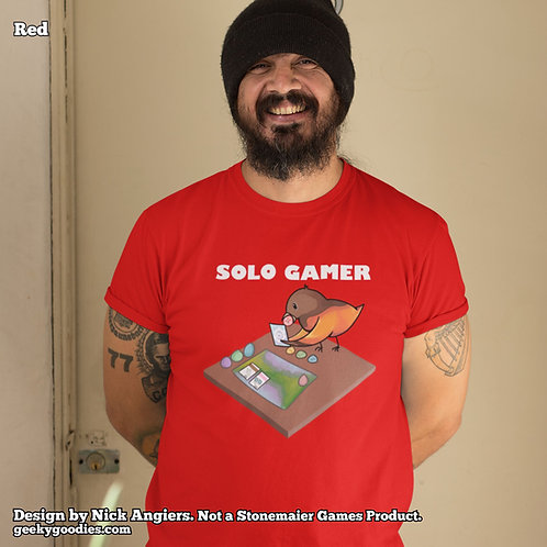 Solo Gamer Mens/Unisex T-shirts