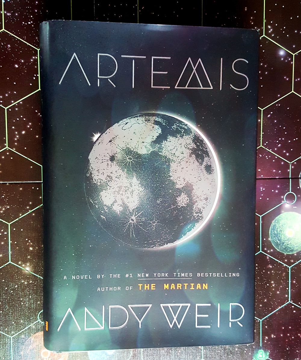 Book Review: Artemis by Andy Weir | Geeky Goodies