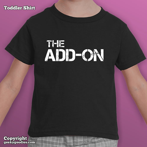 The Add-on Toddler's T-shirt  (Matching Board Game Family T-shirts)