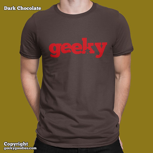 Geeky Mens/Unisex T-shirts
