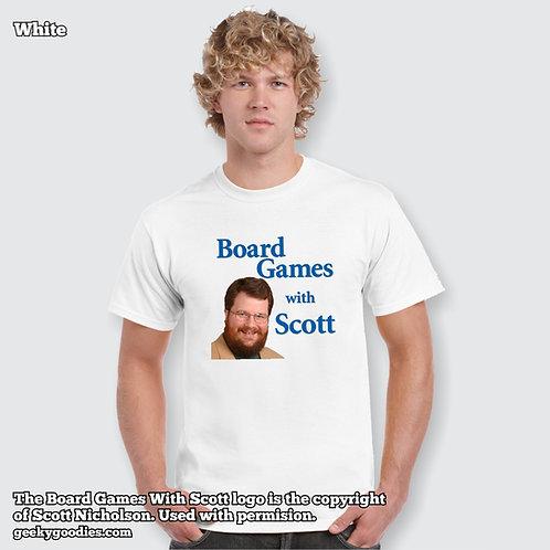 Board Games With Scott Men's / Unisex White T-shirt