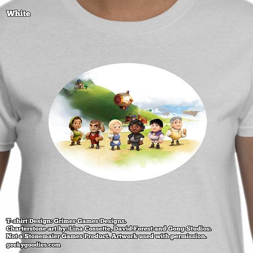 Charterstone Women's White T-shirt