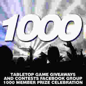 Contest Alert! A chance to win a bunch of board games and other cool stuff   Tabletop Game Giveaways and Contests Facebook Group
