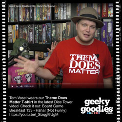 Tom Vasel | Theme Does Matter Tshirt