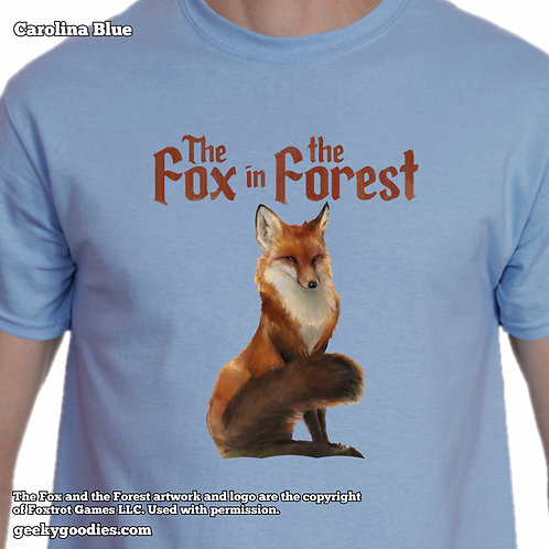 The Fox in the Forest Mens/Unisex T-shirts
