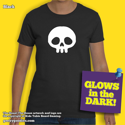 Haunt The House Glow-in-the-Dark Women's T-shirt