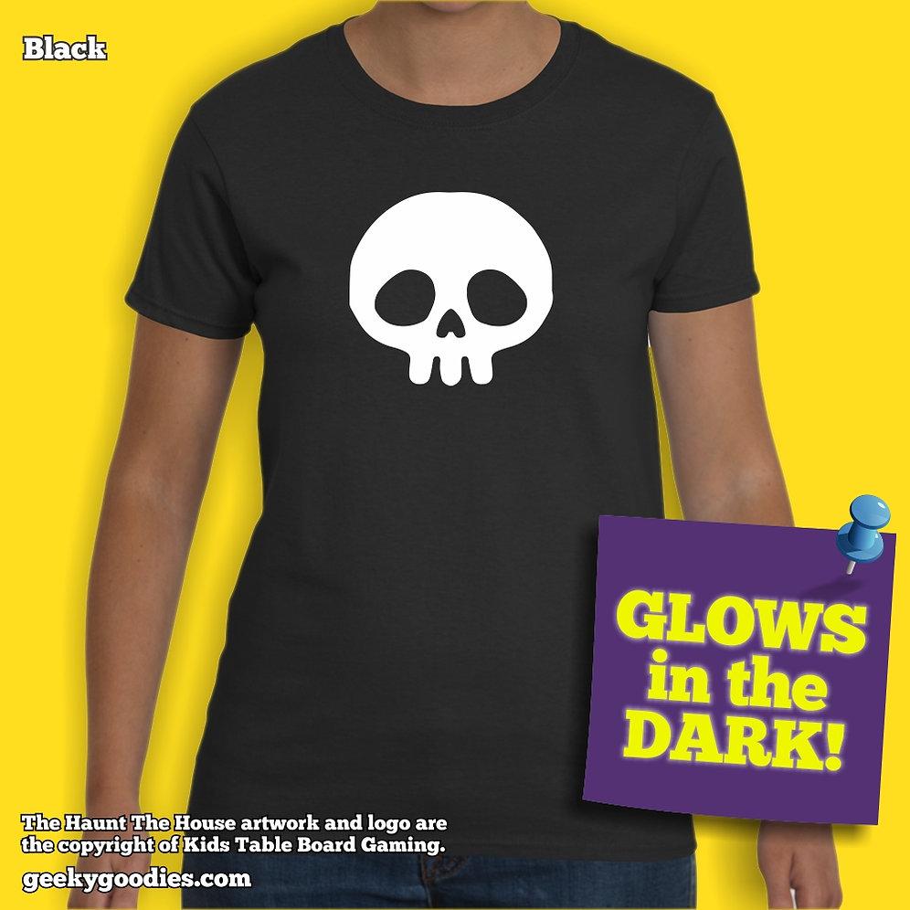 Haunt The House Glow-in-the-Dark Women's T-shirt