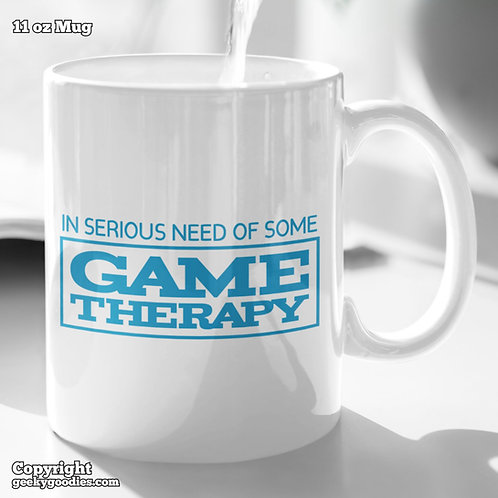 In Serious Need of Some Game Therapy Coffee Mugs