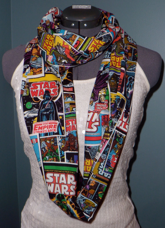 Star Wars Comic Book Infinity Scarf | Geeky Goodies