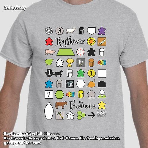 Keyflower: The Farmers Mens/Unisex T-shirt (Light Colors)
