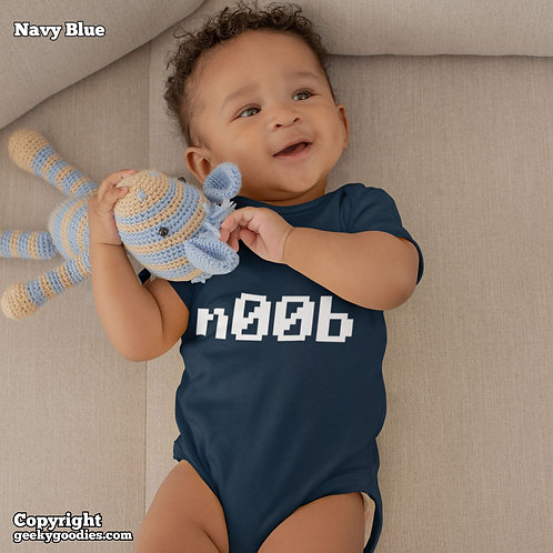n00b Baby Onesies / Infant Bodysuits