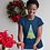 Thumbnail: Meeple Holiday Christmas Tree Ladies T-shirts