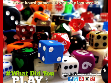 What Did You Play Mondays? June 3, 2019