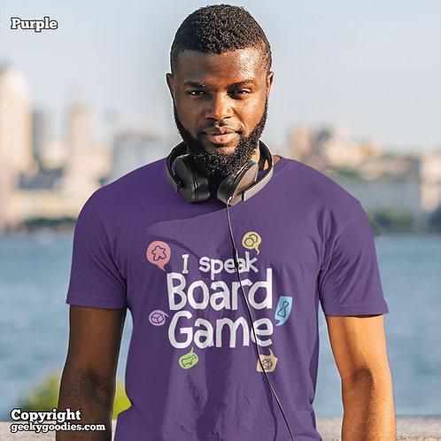 I Speak Board Game Men's/Unisex T-shirts