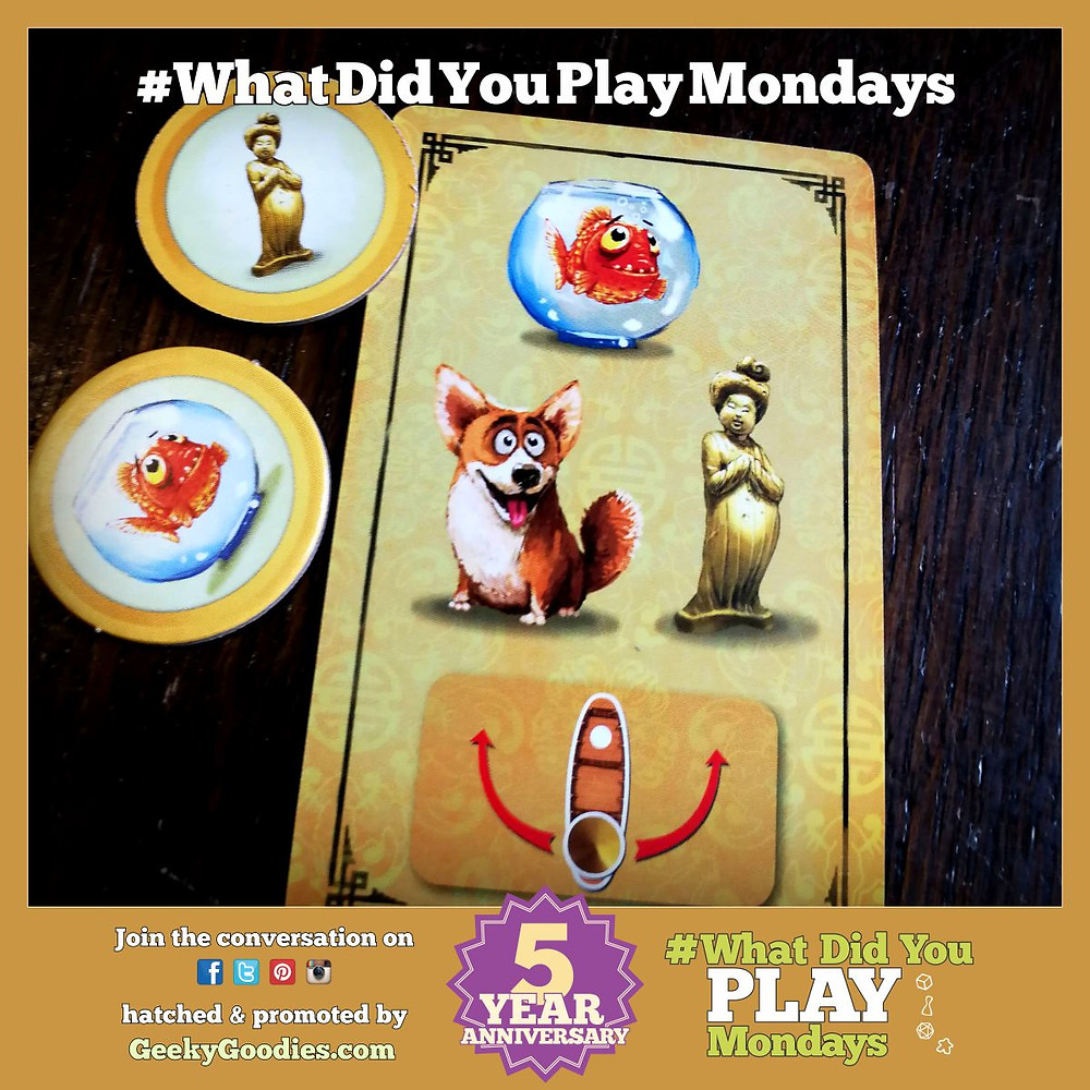 #WhatDidYouPlayMondays - join the board game conversation online with #WhatDidYouPlayMondays