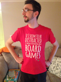 The Dancing Giant | Board Game Shirt