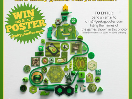 "Holiday Contest Alert! Win an 8"" x 8"" Poster of Your Choice"