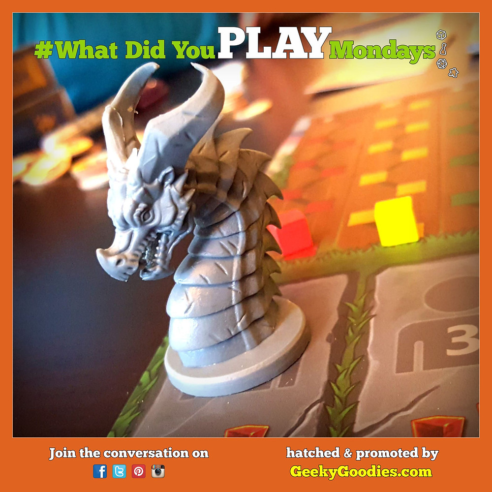 #WhatDidYouPlayMondays - Game in photo: Clank! Legacy: Acquisitions Incorporated