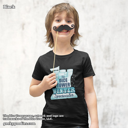 The Dice Tower Winter Spectacular Children's T-shirts