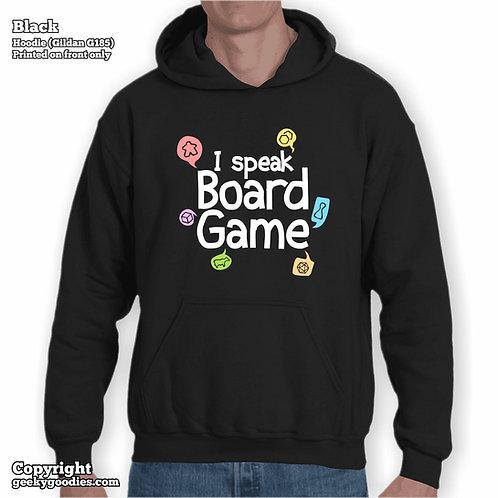 I Speak Board Game Unisex Hoodie
