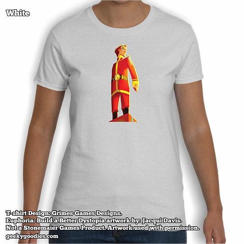 Euphoria Women's White T-shirt
