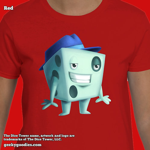 Dice Tom from The Dice Tower Women's T-Shirts