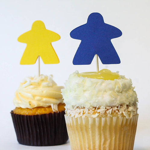 Meeple Cupcake Toppers