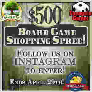 Enter to win a $500 Shopping Spree from Funagain Games! Contest by Druid City Games!