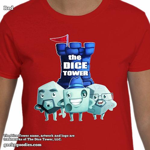 The Dice Tower Dice Guys Ladies T-shirt