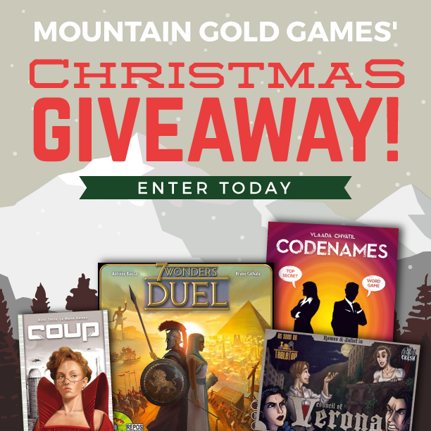 Contest Alert!  Mountain Gold Games Christmas Giveaway