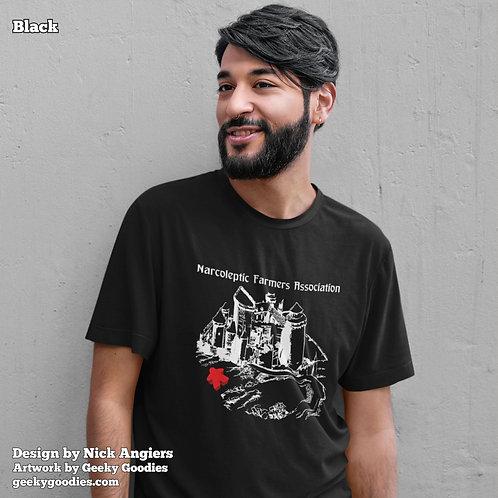 Narcoleptic Farmers Association Mens/Unisex T-shirt