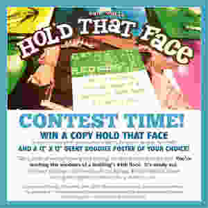 WIN a copy Hold That Face | Board Game Contest  | Board Game Giveaways | Geeky Goodies