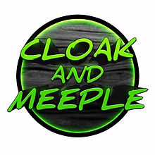 Cloak and Meeple is a video review and preview tabletop game channel on YouTube