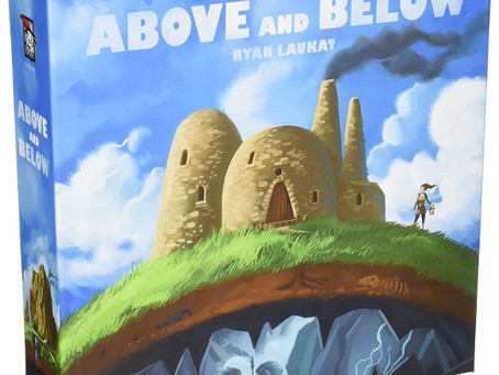 Contest Alert! Win a Copy of  Above and Below