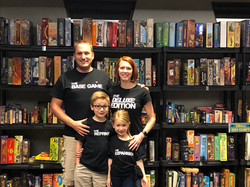 Matching Board Game Family Tshirts