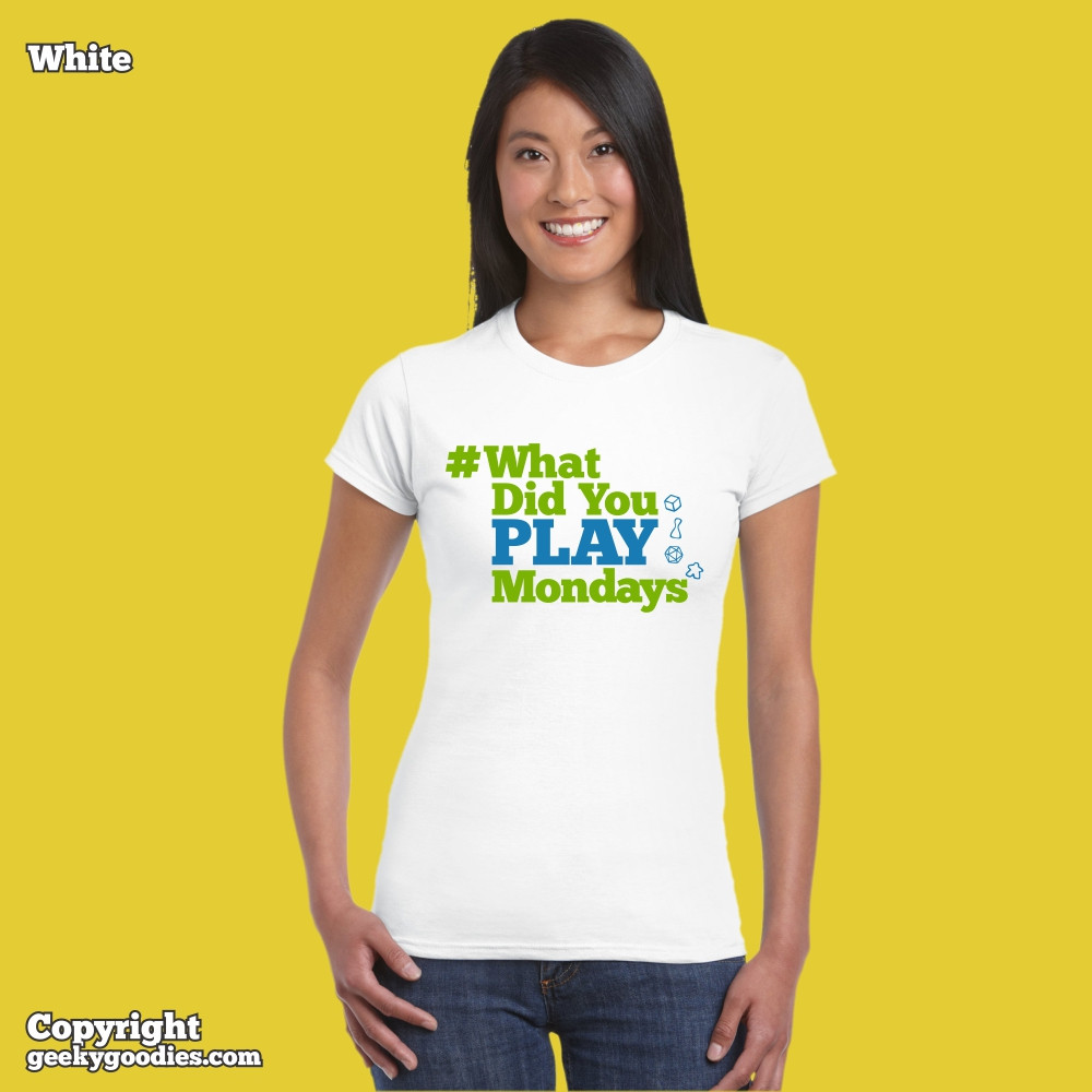 #WhatDidYouPlayMondays for men and women in sizes up to 5XL | Geeky Goodies | Tshirts for board gamers