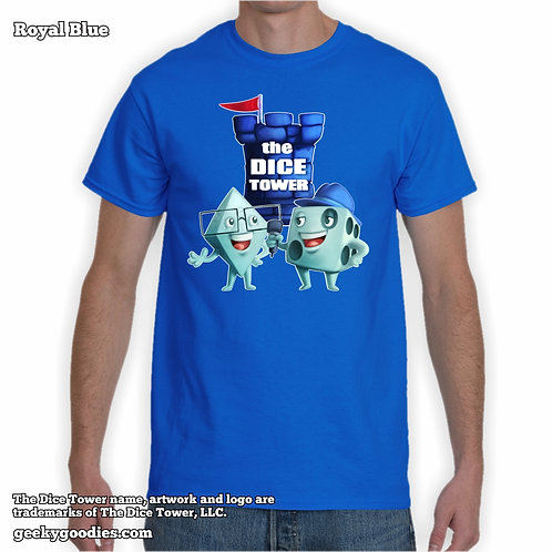 Tall Size Dice Eric & Tom from The Dice Tower Unisex Tshirts