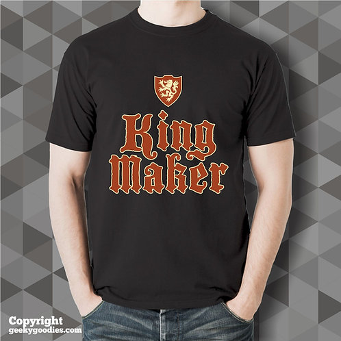 King Maker Black T-shirt