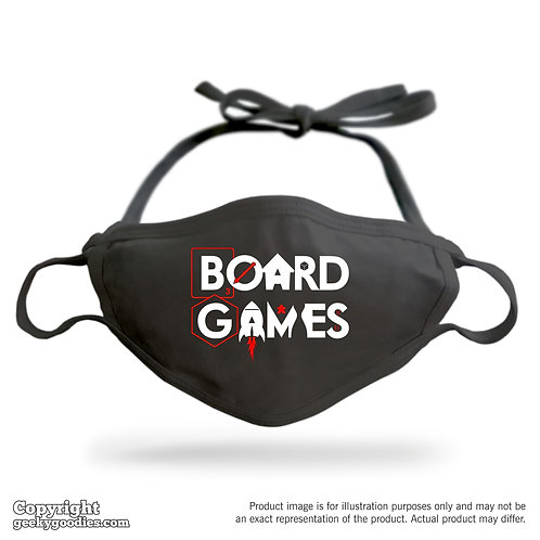 Board Games Adjustable Cloth Face Mask