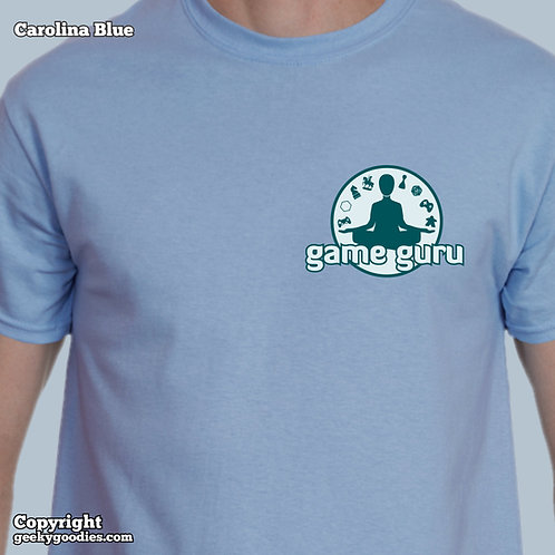 Game Guru Mens/Unisex Tshirt (Light Colors - Small Version)