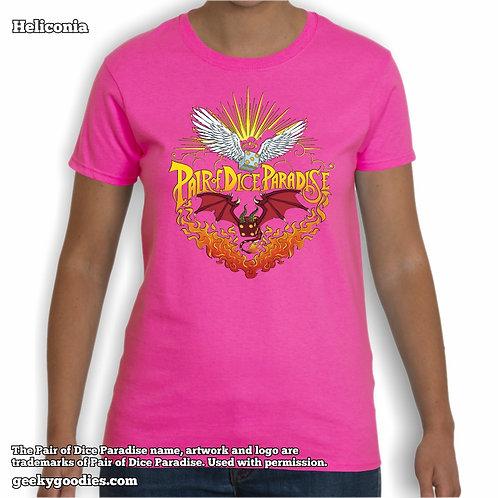 Pair Of Dice Paradise - So Metal Women's Tee