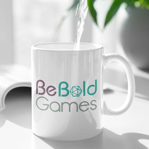Be Bold Games Mugs for Coffee and Tea