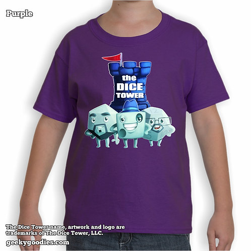 The Dice Tower Dice Guys Children's T-shirt