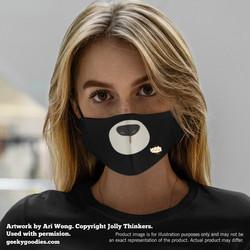 Pick-a-Polar Bear Face Mask