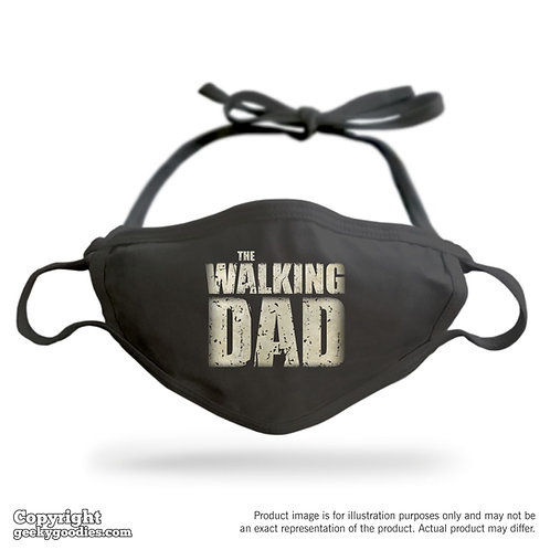 The Walking Dad Adjustable Cloth Face Mask